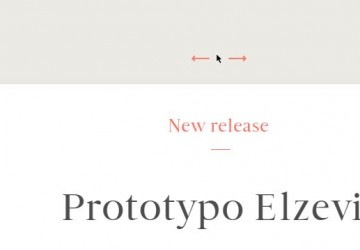 an interactive preview of Prototypo Elzevir, a parametric font designed by the french foundry Production Type.